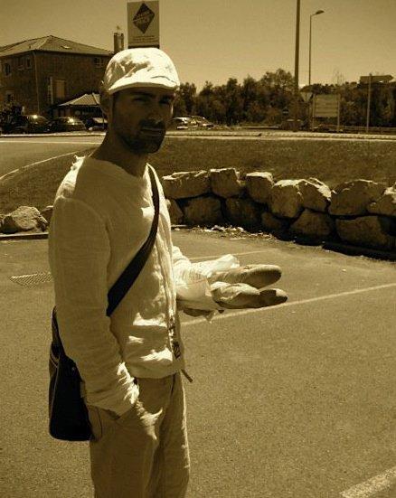 Sebastien French pose