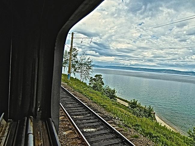 vue sur le lac Baikal
