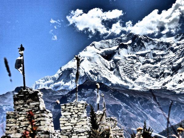 Temple des 100 lamas tour des annapurnas