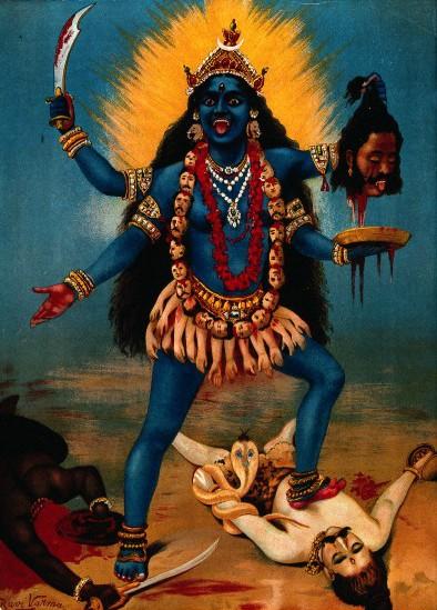 La déesse hindoue Kali